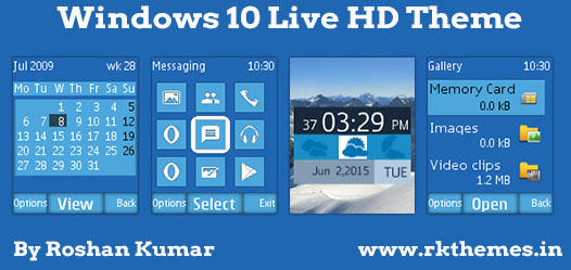 windows 10 live hd theme for nokia c1 01 c1 02 c2 00 107 108