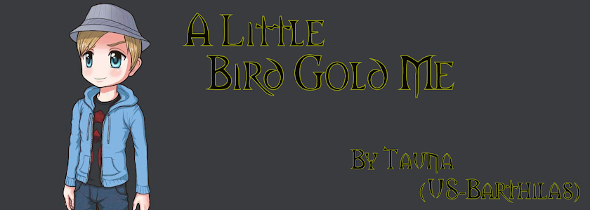 A Little Bird Gold Me