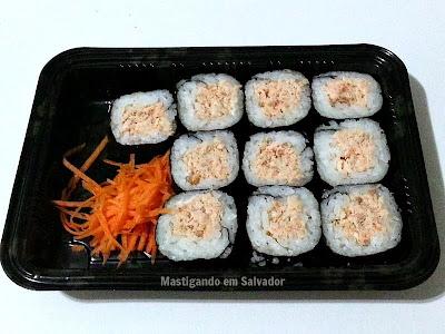 Sushi In Kasa: Hossomakis de Salmão Grelhado