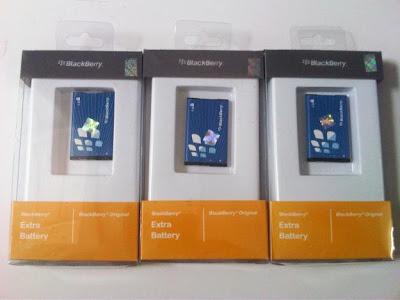Daftar Harga Baterai Original BlackBerry Terbaru 2013