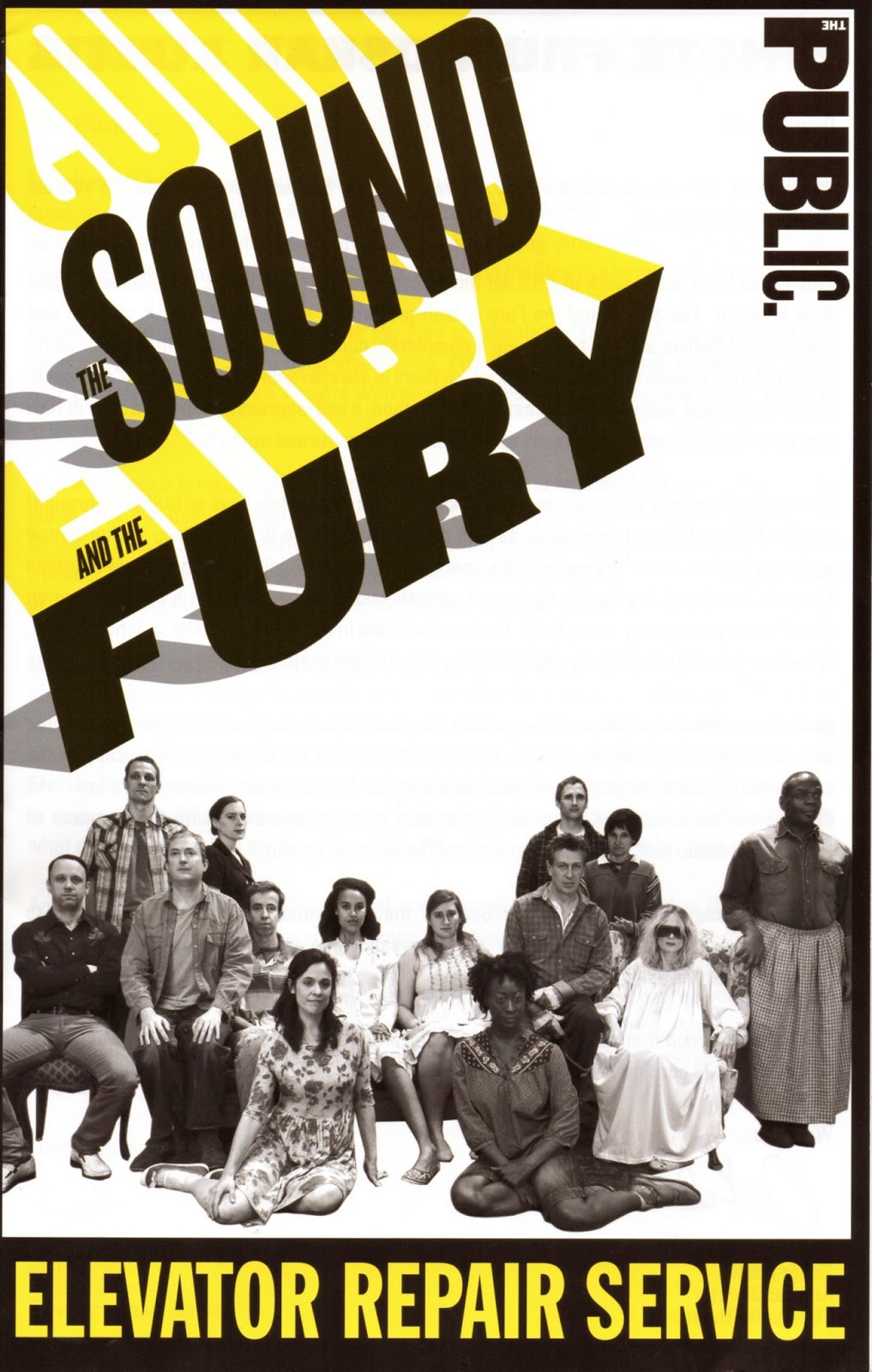 review the sound and the fury Narration, therefore, in the sound and the fury does not move from the symbolic  to the real to unveil the kernel of benjy's cryptic enunciation as would have.