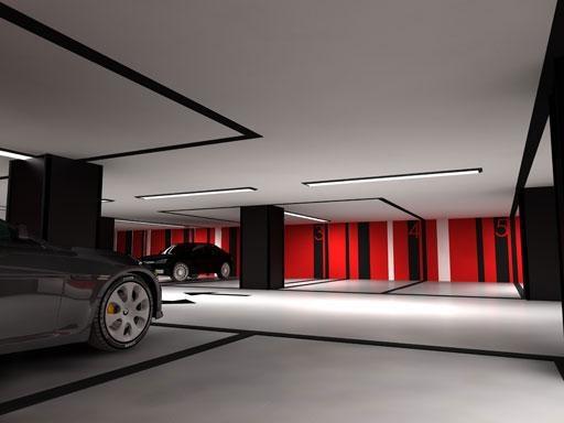 Doos interiorismo dise os diferentes de garajes - Garajes de diseno ...