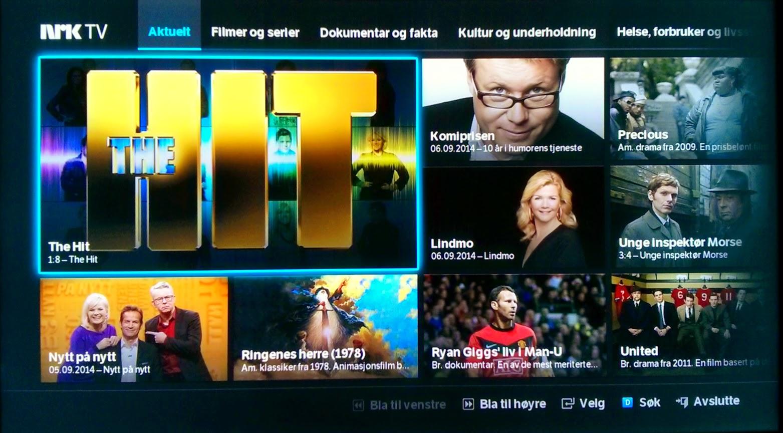 nrk på smart tv