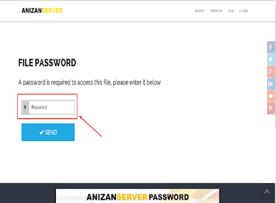 langkah 8 Memperoleh Password Anizan Server
