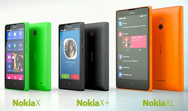 Nokia X Philippines, Nokia X+ Philippines, Nokia XL Philippines