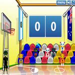 لعبة كرة السلة القطط