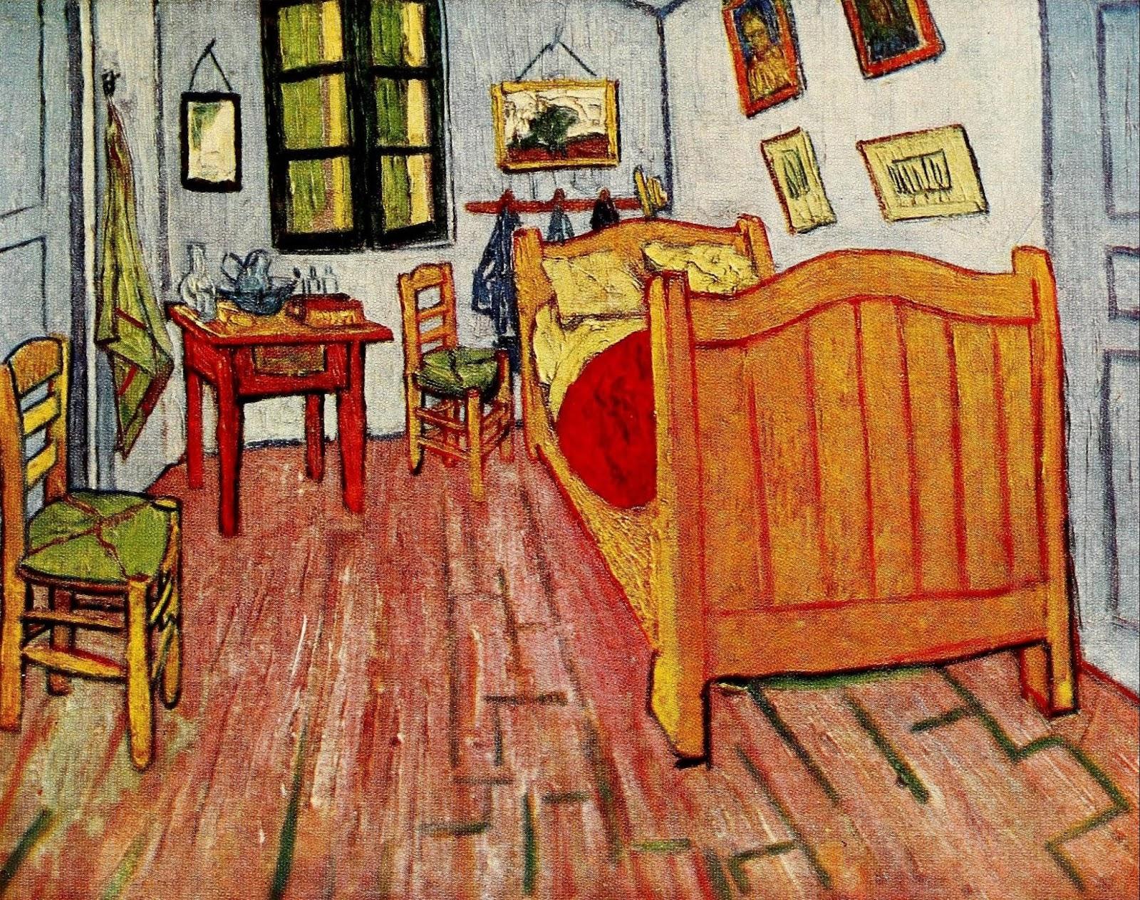 vincent 39 s bedroom at arles 1888