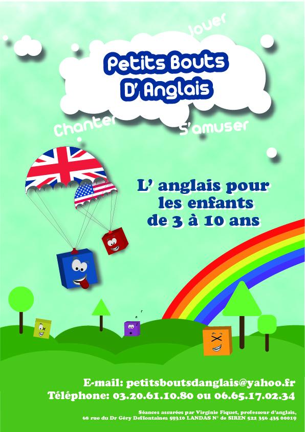 Affiches Cartes De Visites Pour Des Cours Danglais