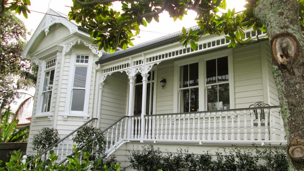 Maison en bois à Auckland NZ