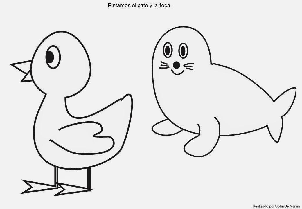 Planeta Juegos Dibujos de animales para pintar