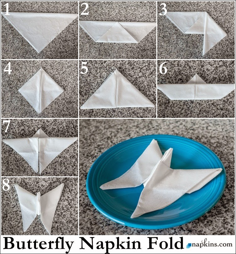 Napkin Folding Tutorials