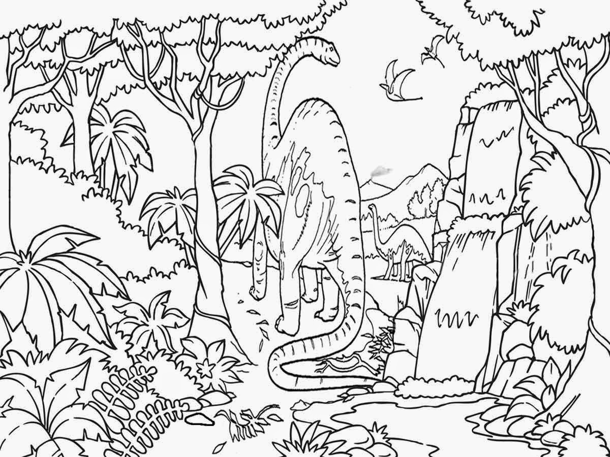 Printable Coloring Pages Jurassic World : Jurassic world dinosaur coloring pages