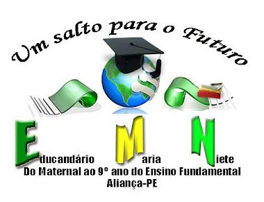 Logomarca do Educandário Maria Niete