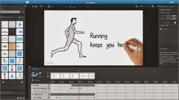 Crea vistosas animaciones con Moovly
