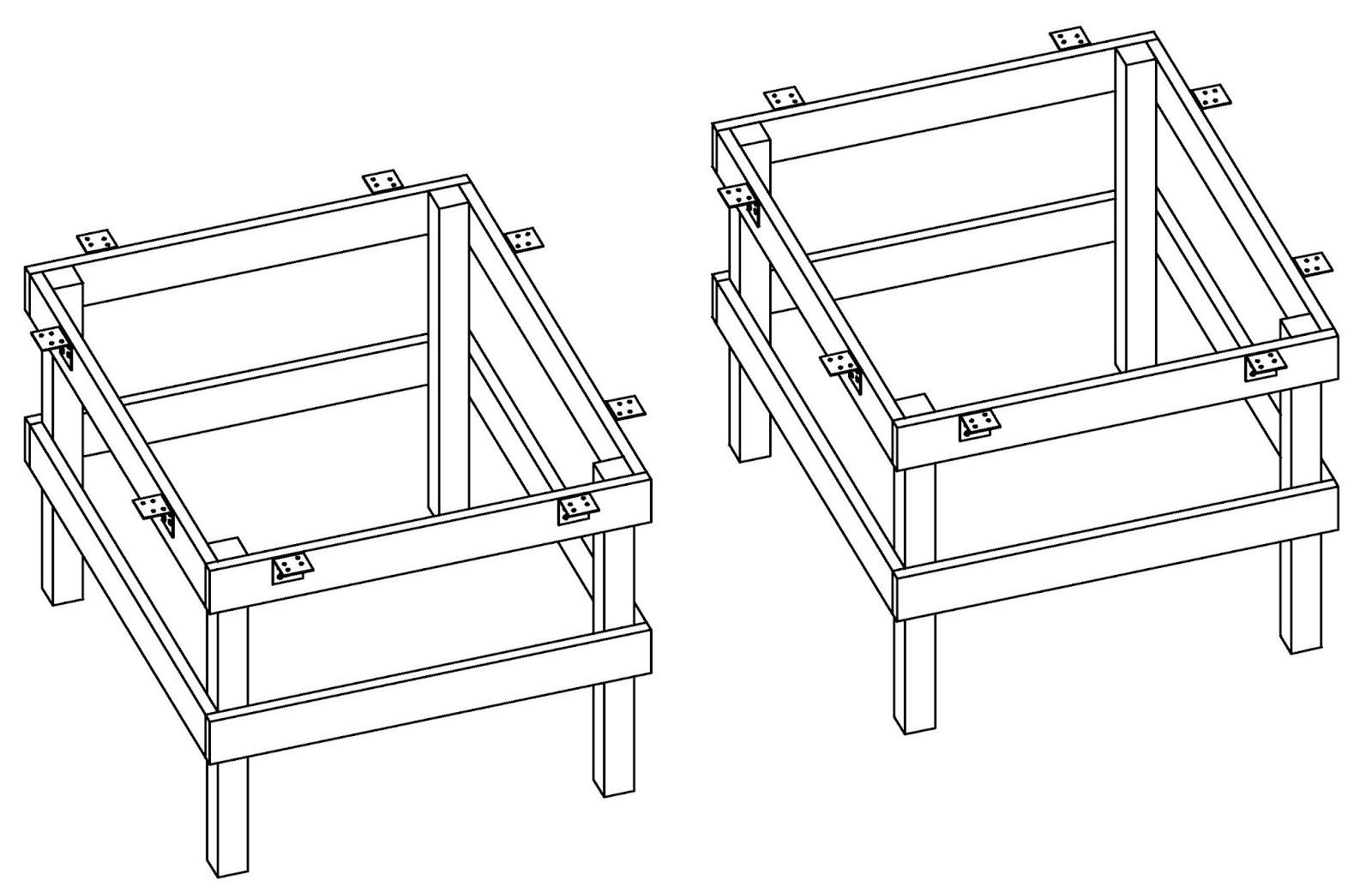 Costruire facile come costruire un tavolo da ping pong - Costruire un tavolo in legno ...