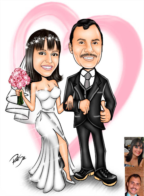 #top #maquiagem #look #terno #amor #namoro #caricaturando #caricature