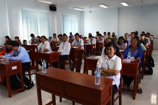 Toàn cảnh Hội thảo phát triển làng nghề tỉnh Trà Vinh