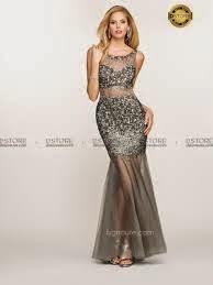 vestido longo com transparência e pedrarias - fotos e modelos