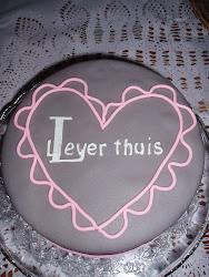 een heerlijke Liever Thuis taart
