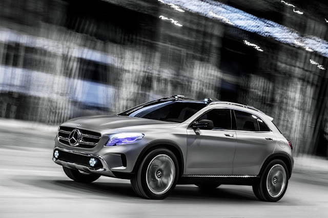 Mercedes-Benz Leaks Photos of the GLA Concept Before Its Debut in Shanghai