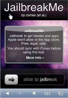 iPhone 4 JailbreakME