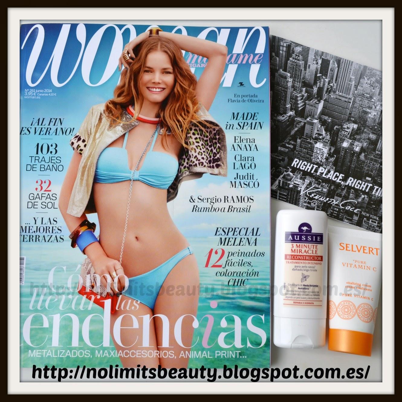 Revistas junio 2014: Woman