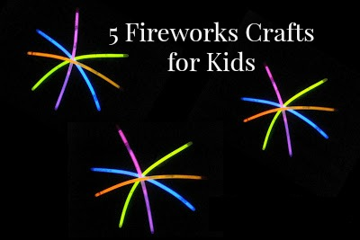 5 fireworks crafts for kids