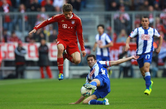 Bayern Munich vs Hertha Berlin
