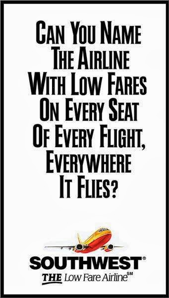 airline ads