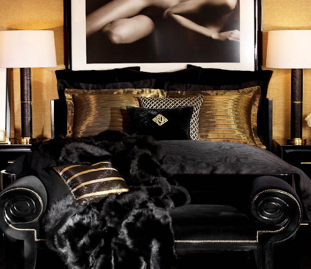 Ralph Lauren Art Deco Bedroom
