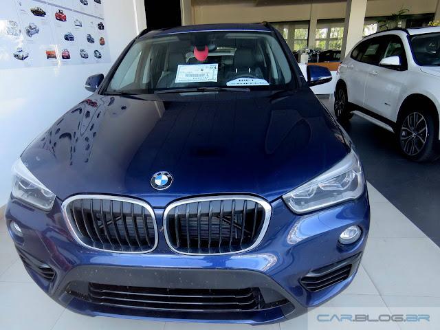 Novo BMW X1 2016 - Brasil