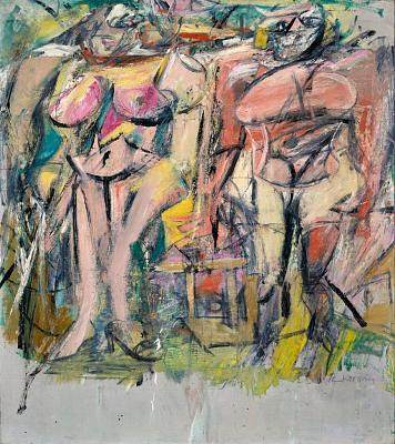 Willem de Kooning- Women in the Country, (1954)