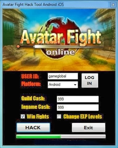 Avatar Fight Online Cheat Hack
