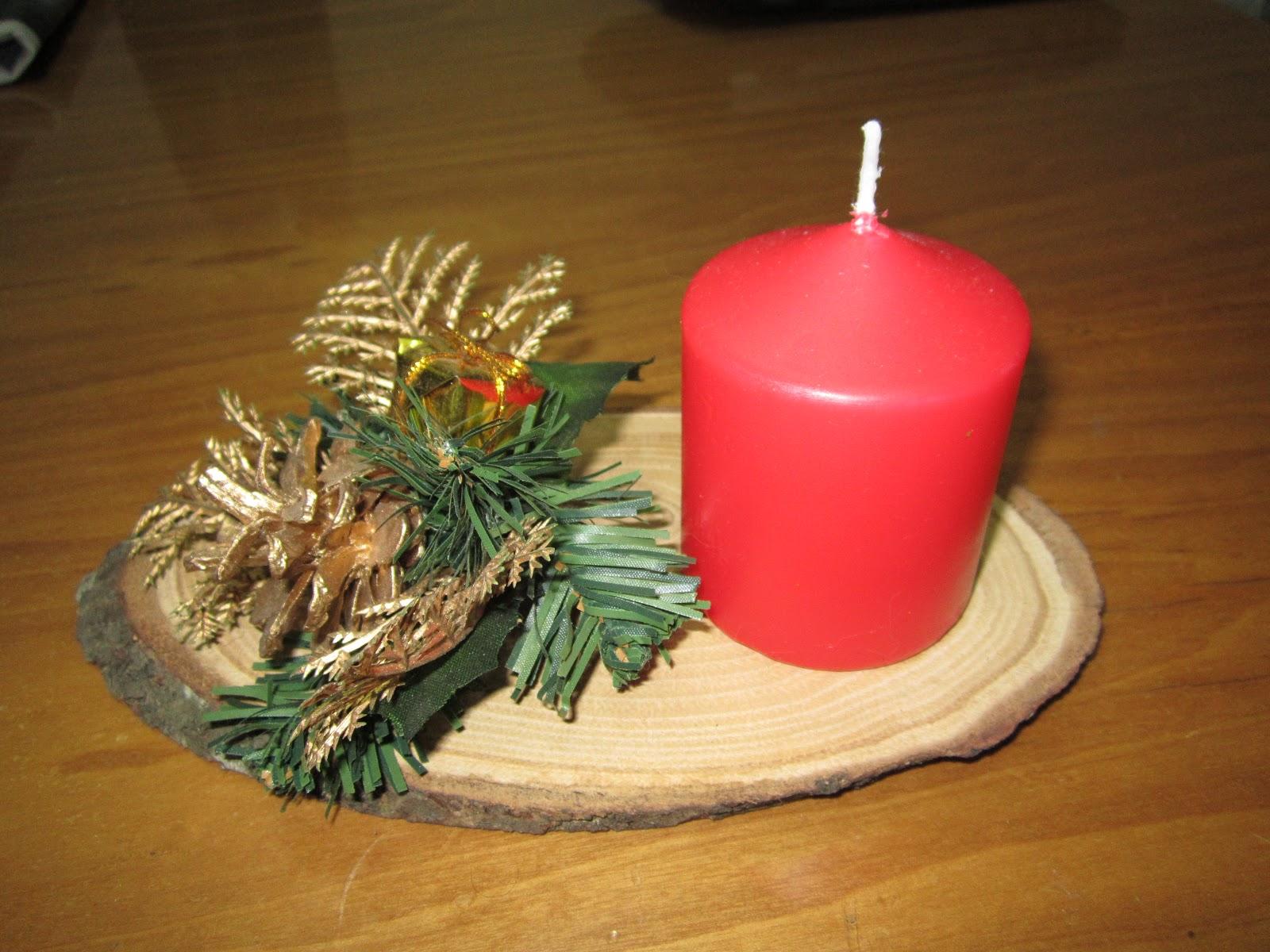 Fimo manualidades centro de mesa navide o - Centros de mesa navidenos manualidades ...