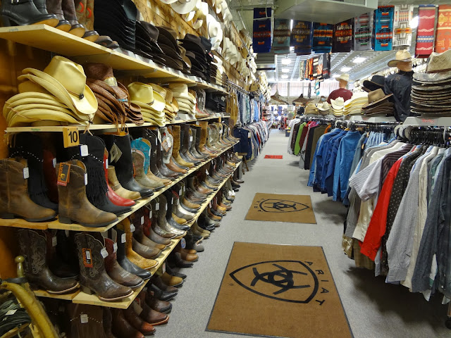 Western Wear Store in American West