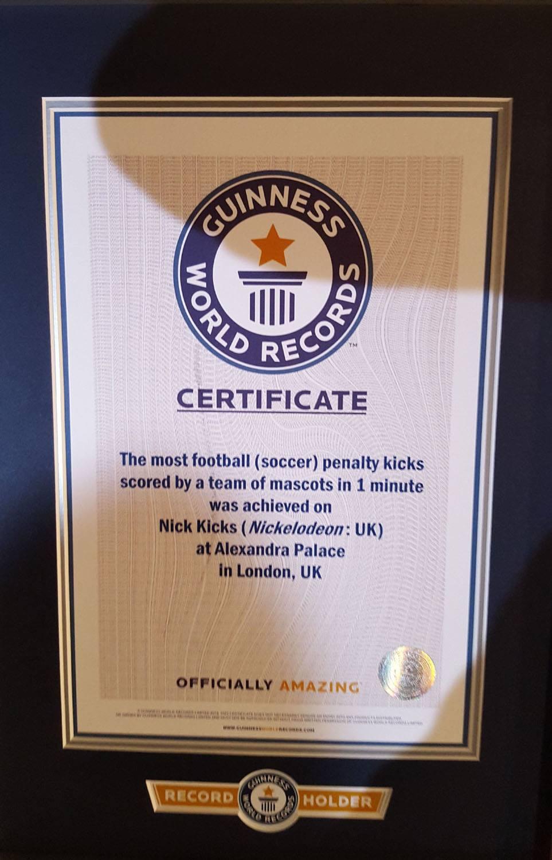 Guinness World Record Certificate Template 3 Mandegarfo