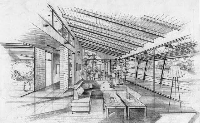 Apuntes revista digital de arquitectura bocetos a mano - Espacios comerciales arquitectura ...