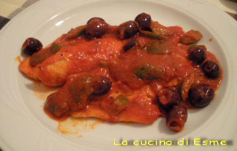 La cucina di esme filetti di rombo alle olive - La cucina di esme ...