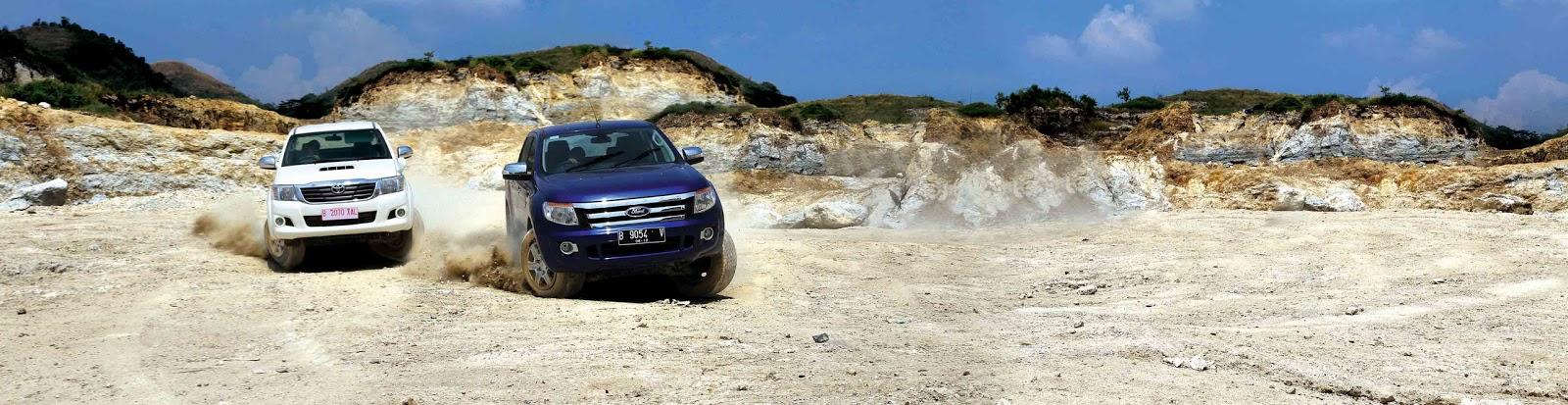 - Toyota Hilux G 2.5 VNT M/T v.s All-New Ford Ranger 2.2 XLT M/T