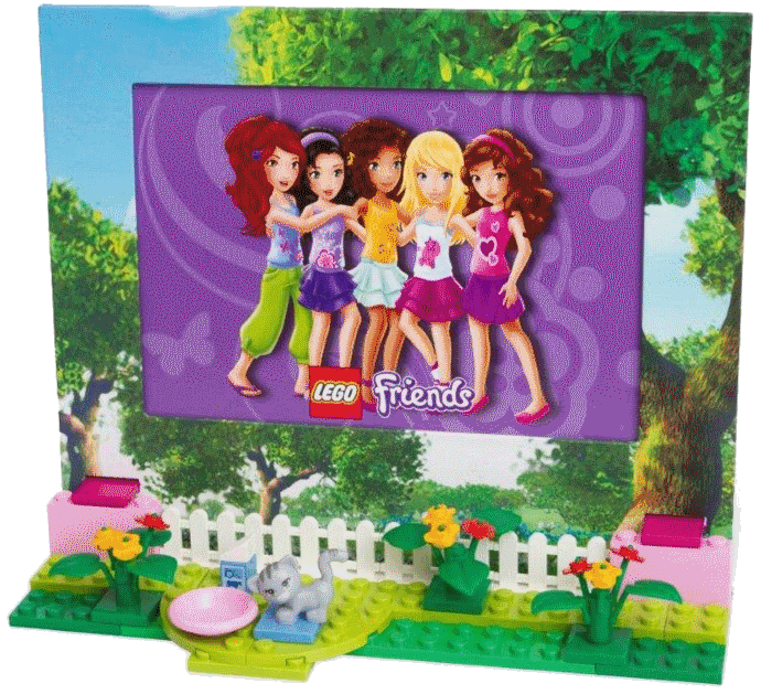 ... of the activities for a keepsake in the LEGO Friends photo frame