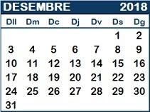 La fulla del calendari