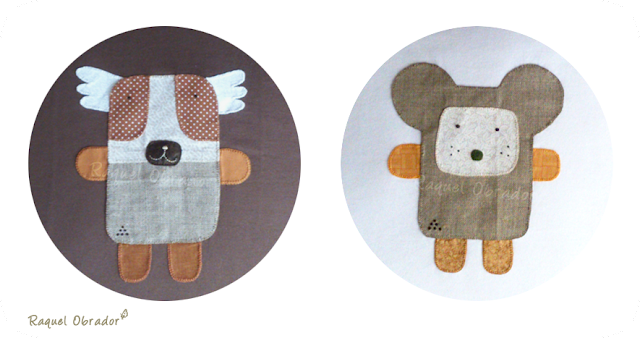 camisetas personalizadas patchwork animales