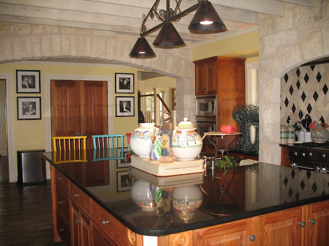 Kitchen Island Yes Or No hill country house: kitchen joy!