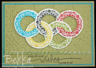 Olympic Rings Card by Bekka www.feeling-crafty.co.uk