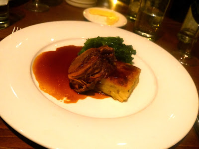 Cardiff Marriott Slow Cooked Organic Graig Farm Brisket with Anchovy and Rosemary Potatoes