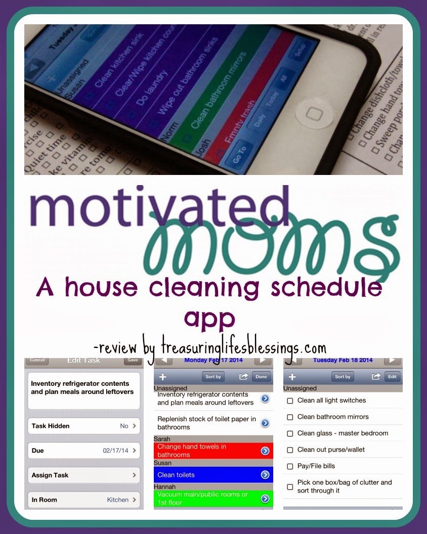 house cleaning schedule, chore chart, planner