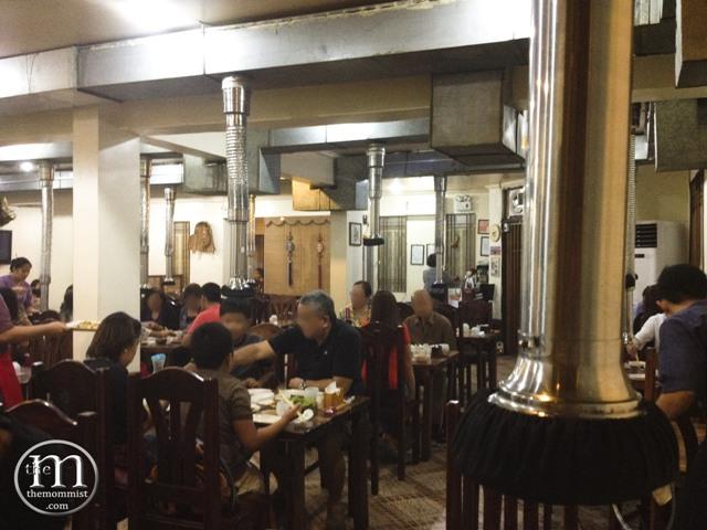 Sam Won Korean Restaurant interior