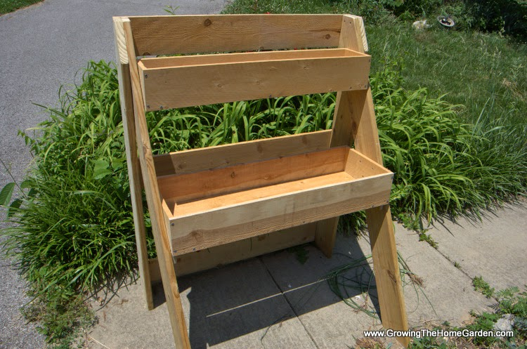 how to build a raised planter box with legs