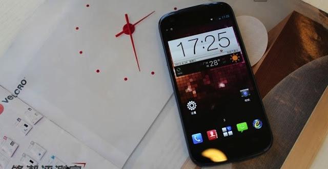 ZTE N986,Ponsel Quad-Core,Dari ZTE