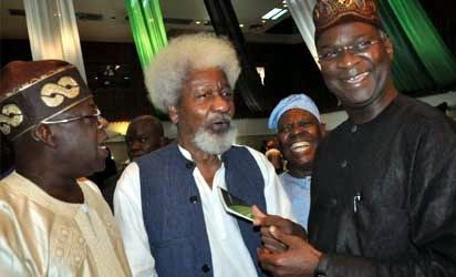 WOLE SOYINKA, NOW A DISCIPLE?